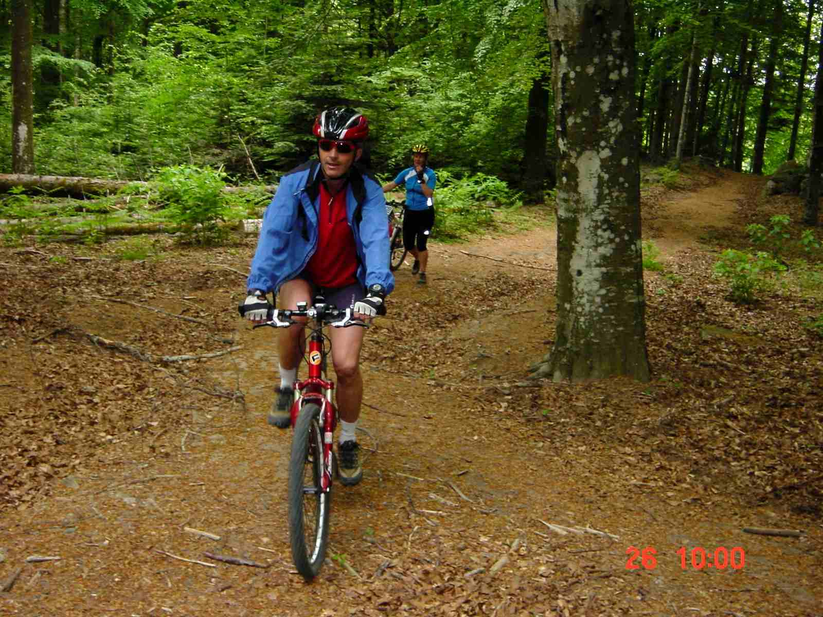 Foto: Manfred Karl / Mountainbike Tour / Monte Amiata, 1733 m / Noch geht´s / 20.06.2007 06:12:34
