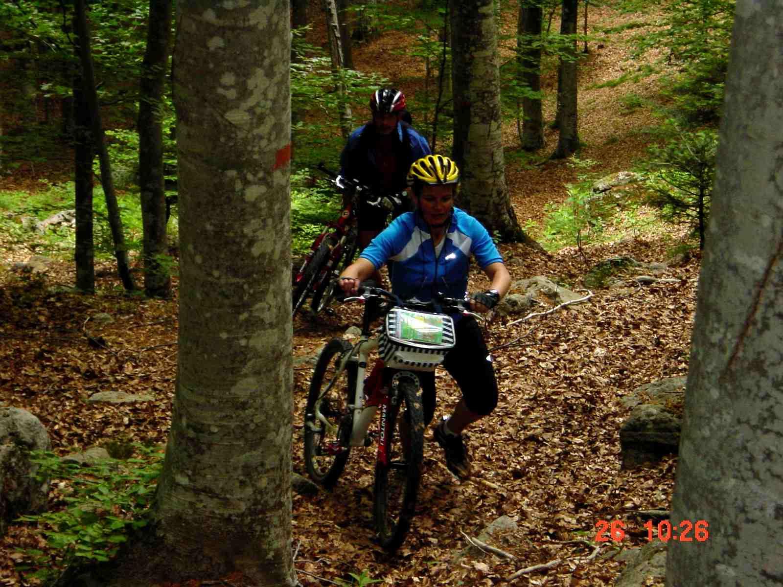 Foto: Manfred Karl / Mountainbike Tour / Monte Amiata, 1733 m / Schiebestrecke / 20.06.2007 06:12:16