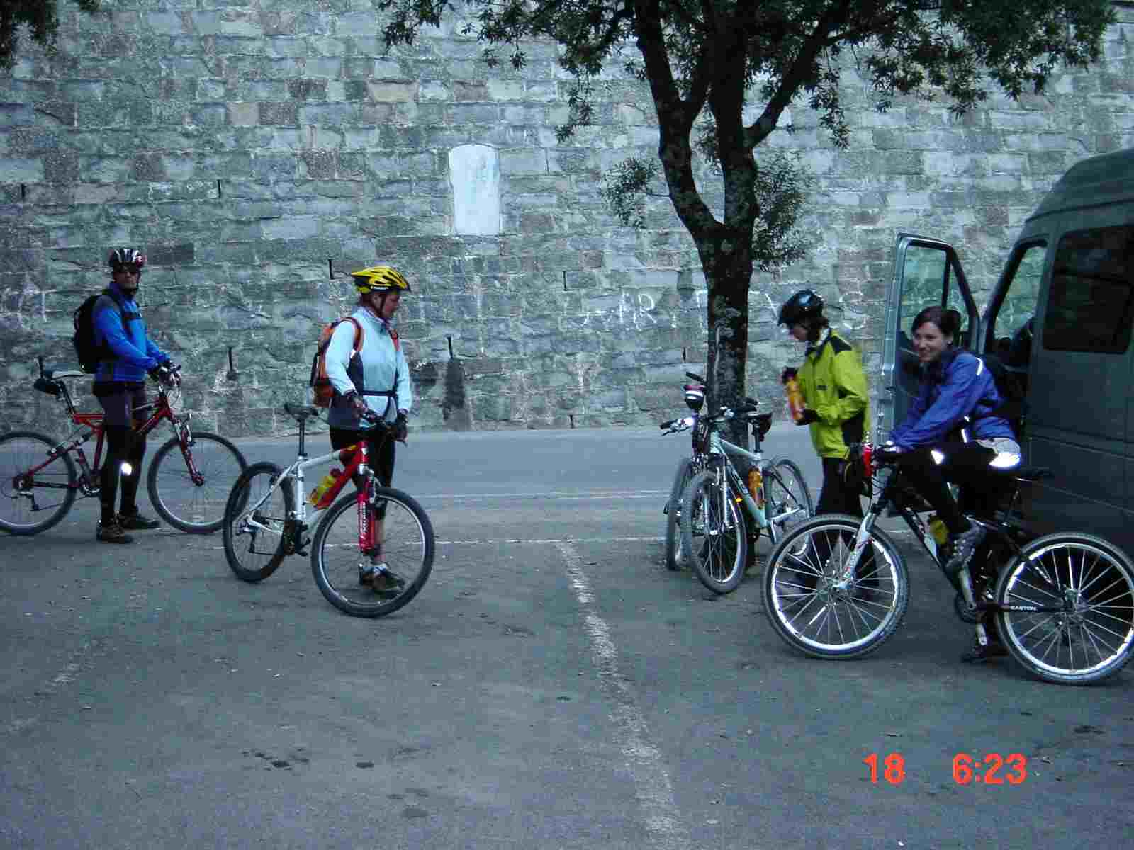 Foto: Manfred Karl / Mountainbiketour / Monte Ginezzo, 928 m / Start in Cortona / 20.06.2007 06:23:10
