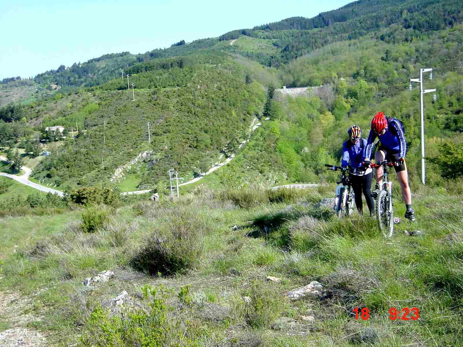 Foto: Manfred Karl / Mountainbike Tour / Monte Ginezzo, 928 m / 20.06.2007 06:20:57