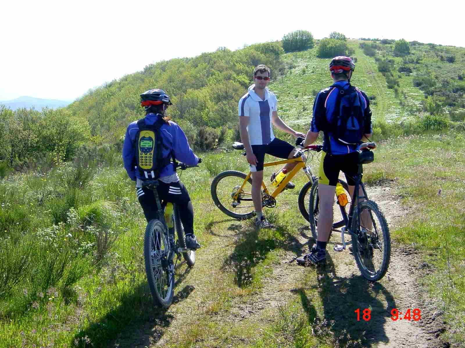 Foto: Manfred Karl / Mountainbike Tour / Monte Ginezzo, 928 m / 20.06.2007 06:19:47