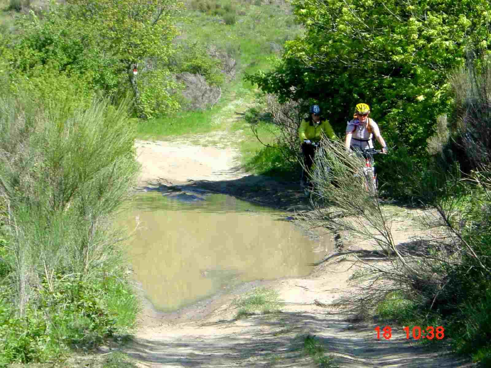 Foto: Manfred Karl / Mountainbike Tour / Monte Ginezzo, 928 m / 20.06.2007 06:17:30