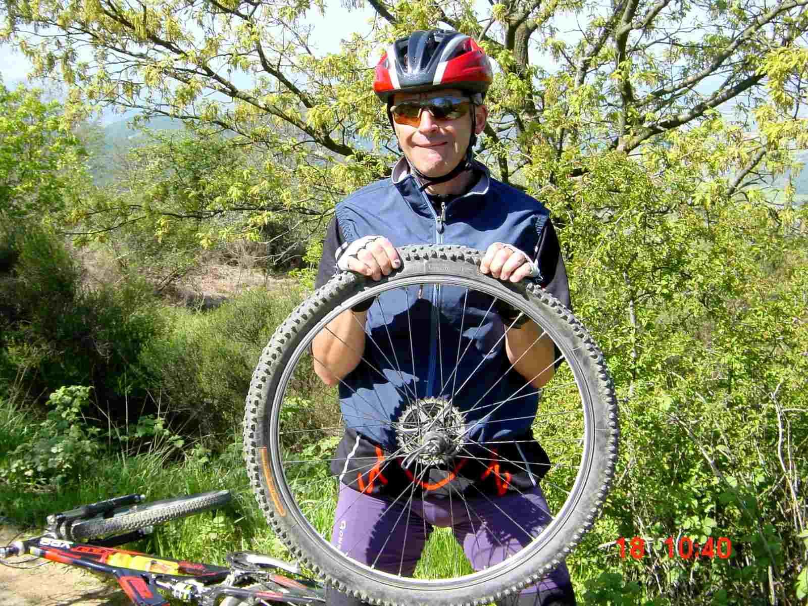 Foto: Manfred Karl / Mountainbike Tour / Monte Ginezzo, 928 m / Das gehört dazu! / 20.06.2007 06:17:19
