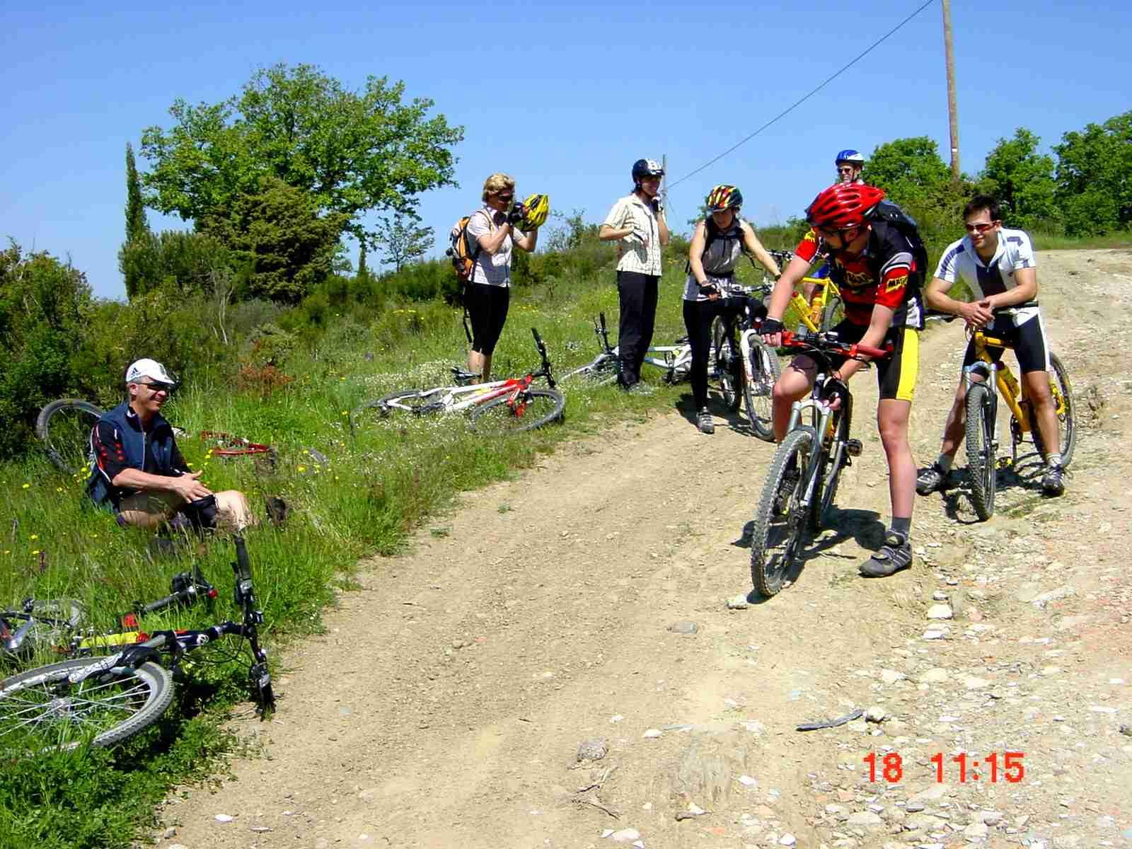 Foto: Manfred Karl / Mountainbike Tour / Monte Ginezzo, 928 m / War ganz nett! / 20.06.2007 06:16:54