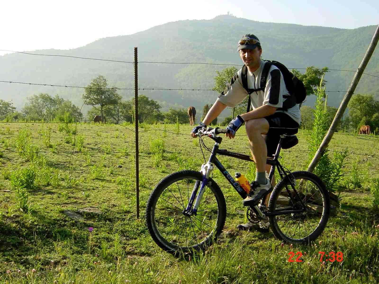 Foto: Manfred Karl / Mountainbike Tour / Monte Castel Giudeo, 1037 m / Noch ein schönes Stück / 20.06.2007 06:30:47