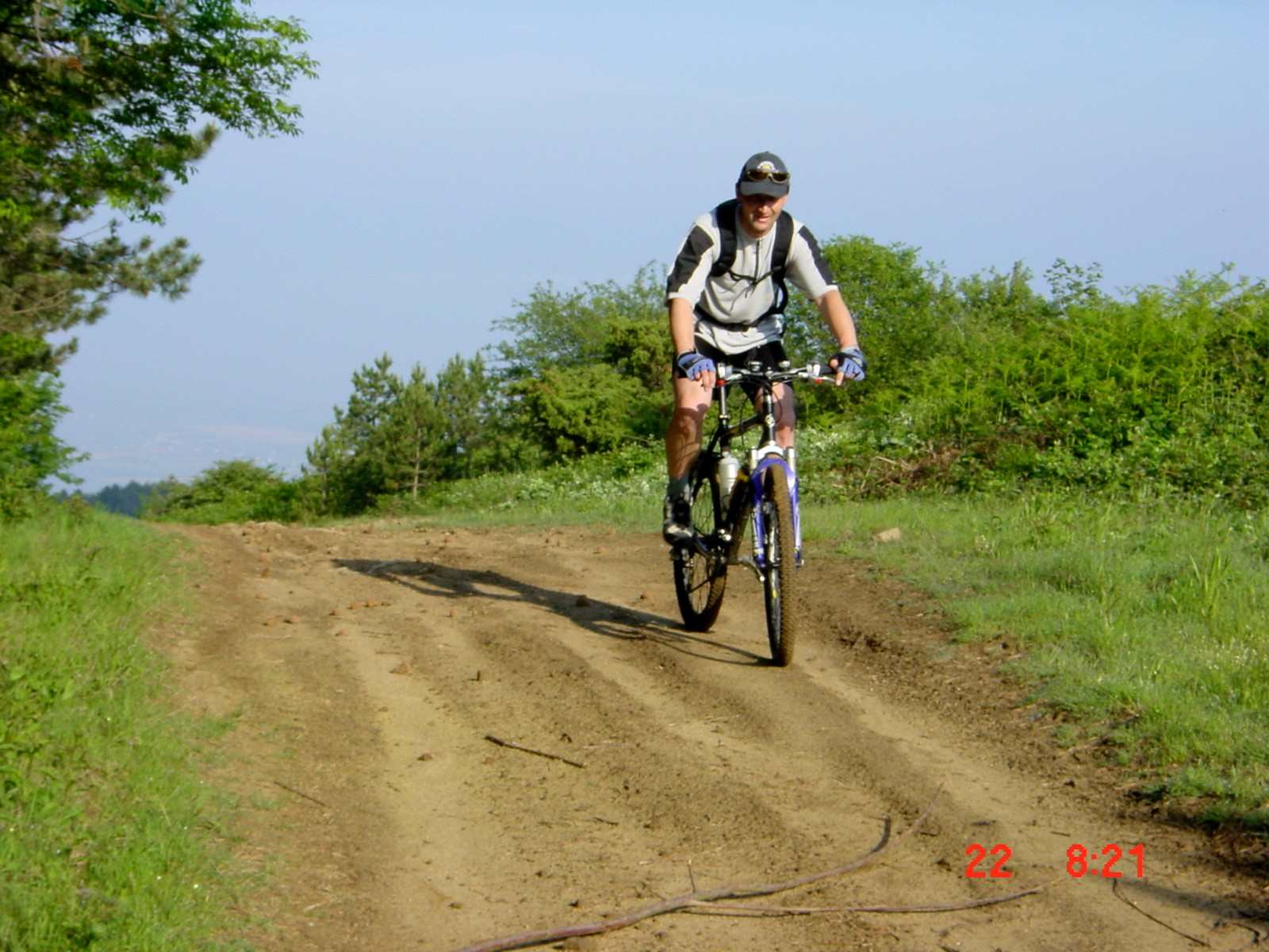 Foto: Manfred Karl / Mountainbike Tour / Monte Castel Giudeo, 1037 m / 20.06.2007 06:30:02