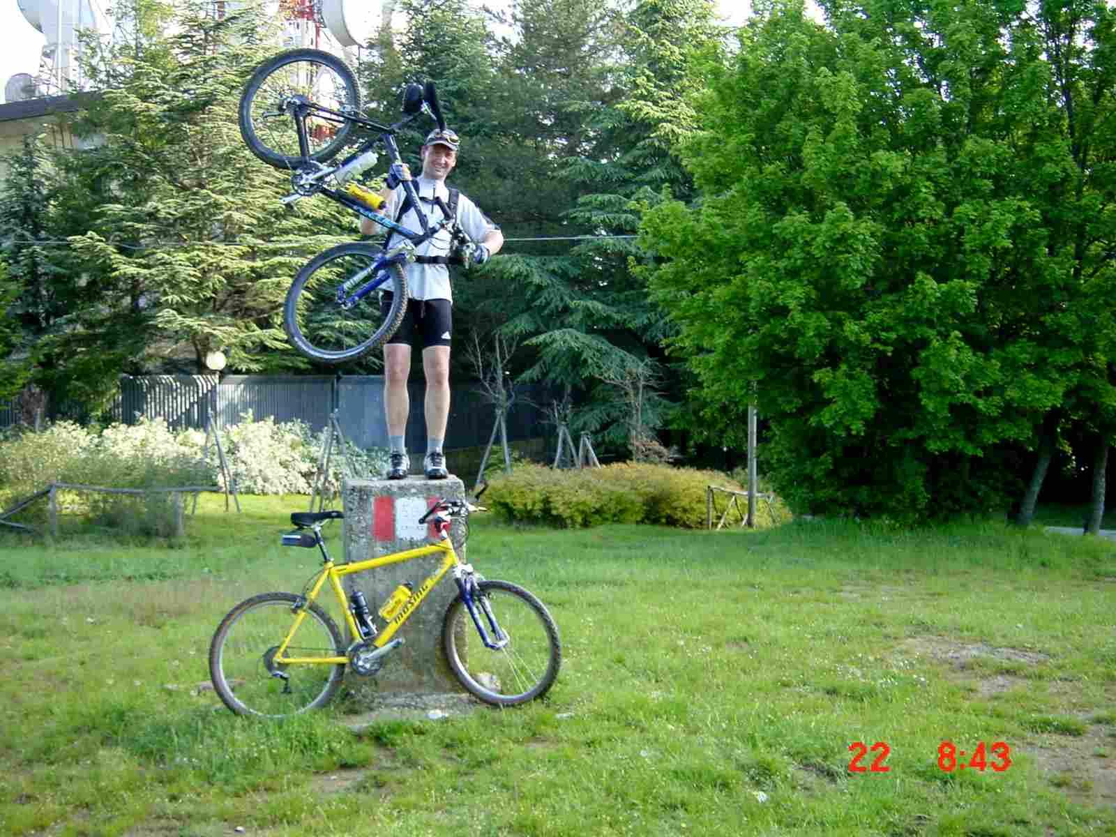 Foto: Manfred Karl / Mountainbike Tour / Monte Castel Giudeo, 1037 m / Alta San Egidio / 20.06.2007 06:29:06