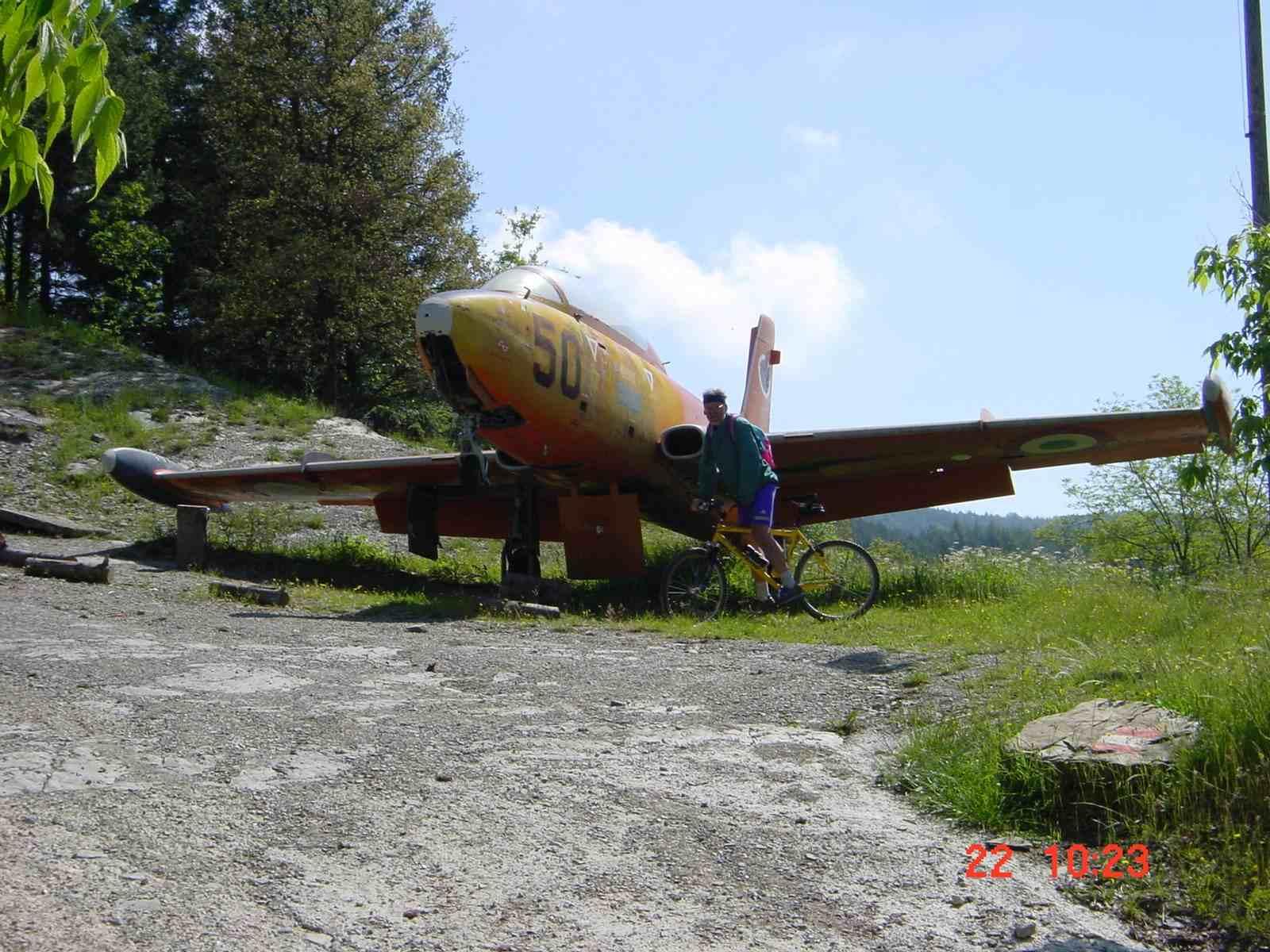Foto: Manfred Karl / Mountainbike Tour / Monte Castel Giudeo, 1037 m / 20.06.2007 06:28:47