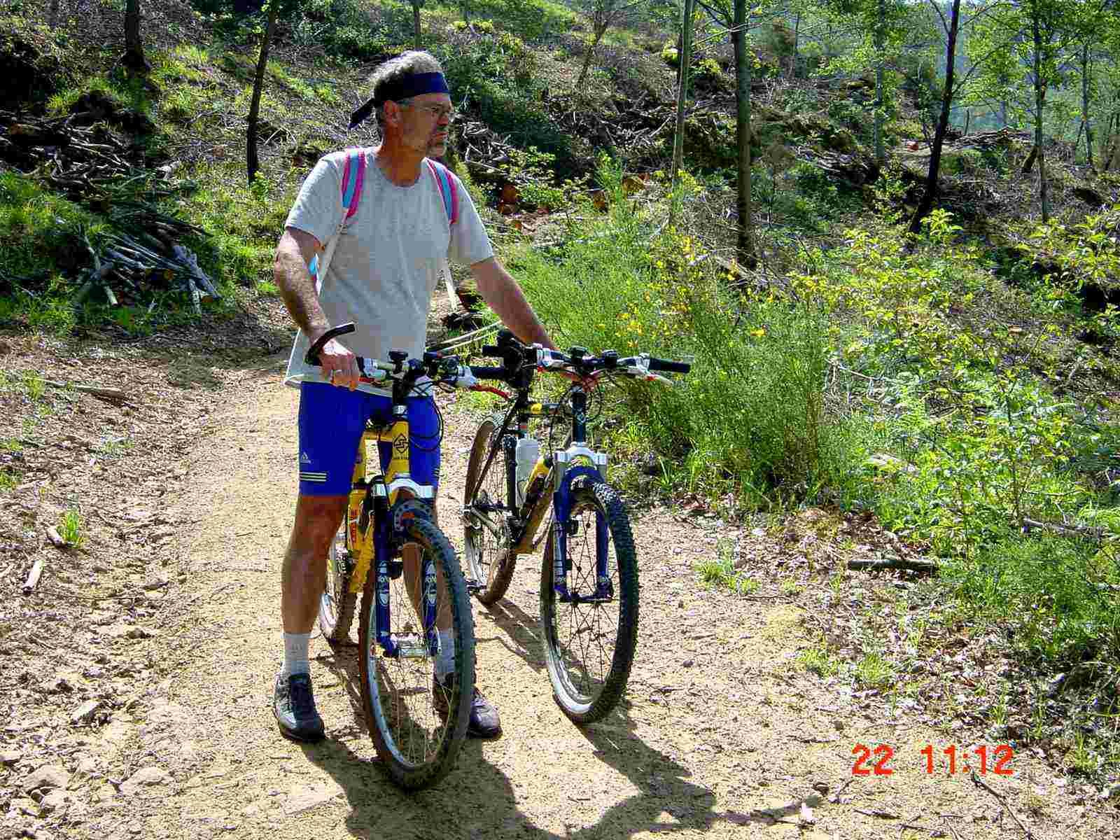 Foto: Manfred Karl / Mountainbike Tour / Monte Castel Giudeo, 1037 m / Das war eine Plage - und Hitze! / 20.06.2007 06:27:00