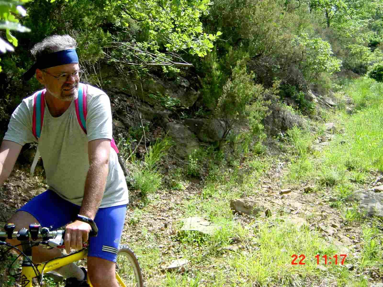 Foto: Manfred Karl / Mountainbike Tour / Monte Castel Giudeo, 1037 m / Hoffentlich kommt keine Wildsau daher! / 20.06.2007 06:26:32