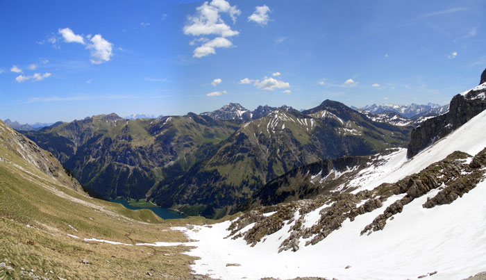 Foto: vince 51 / Wander Tour / Vom Vilsalpsee auf das Gaishorn / 20.06.2007 18:15:03