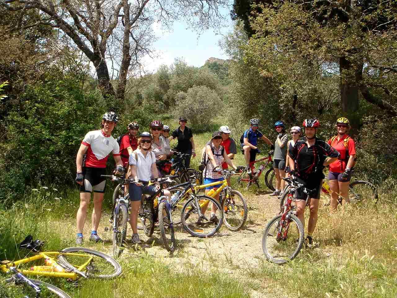 Foto: Manfred Karl / Mountainbike Tour / Von Bagno Vignoni nach Pienza / 20.06.2007 17:47:41