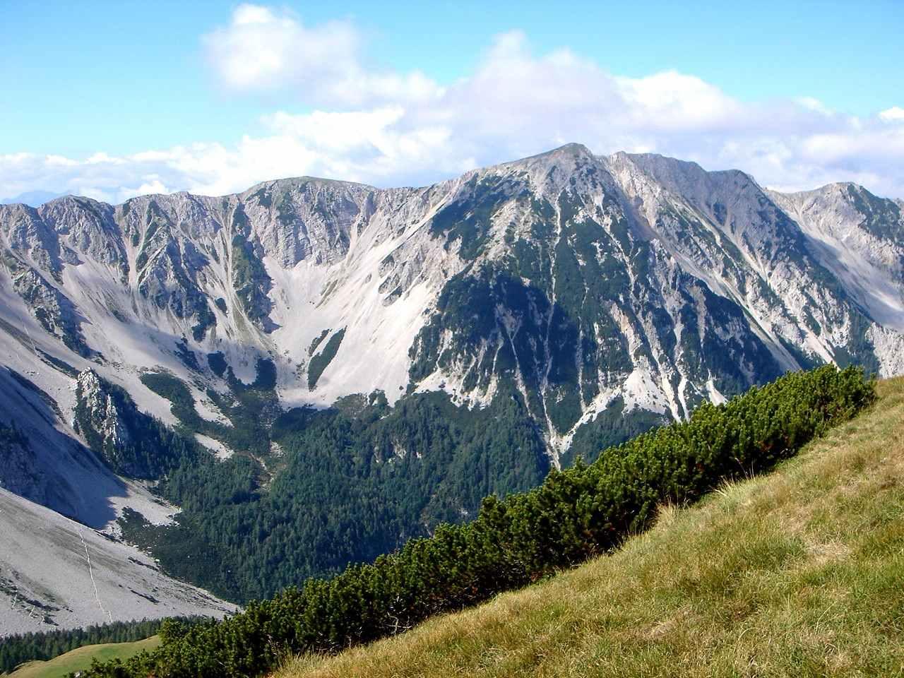 Foto: Manfred Karl / Wander Tour / Über die Klagenfurter Hütte auf den Geißberg / Weinasch / 20.06.2007 18:09:33