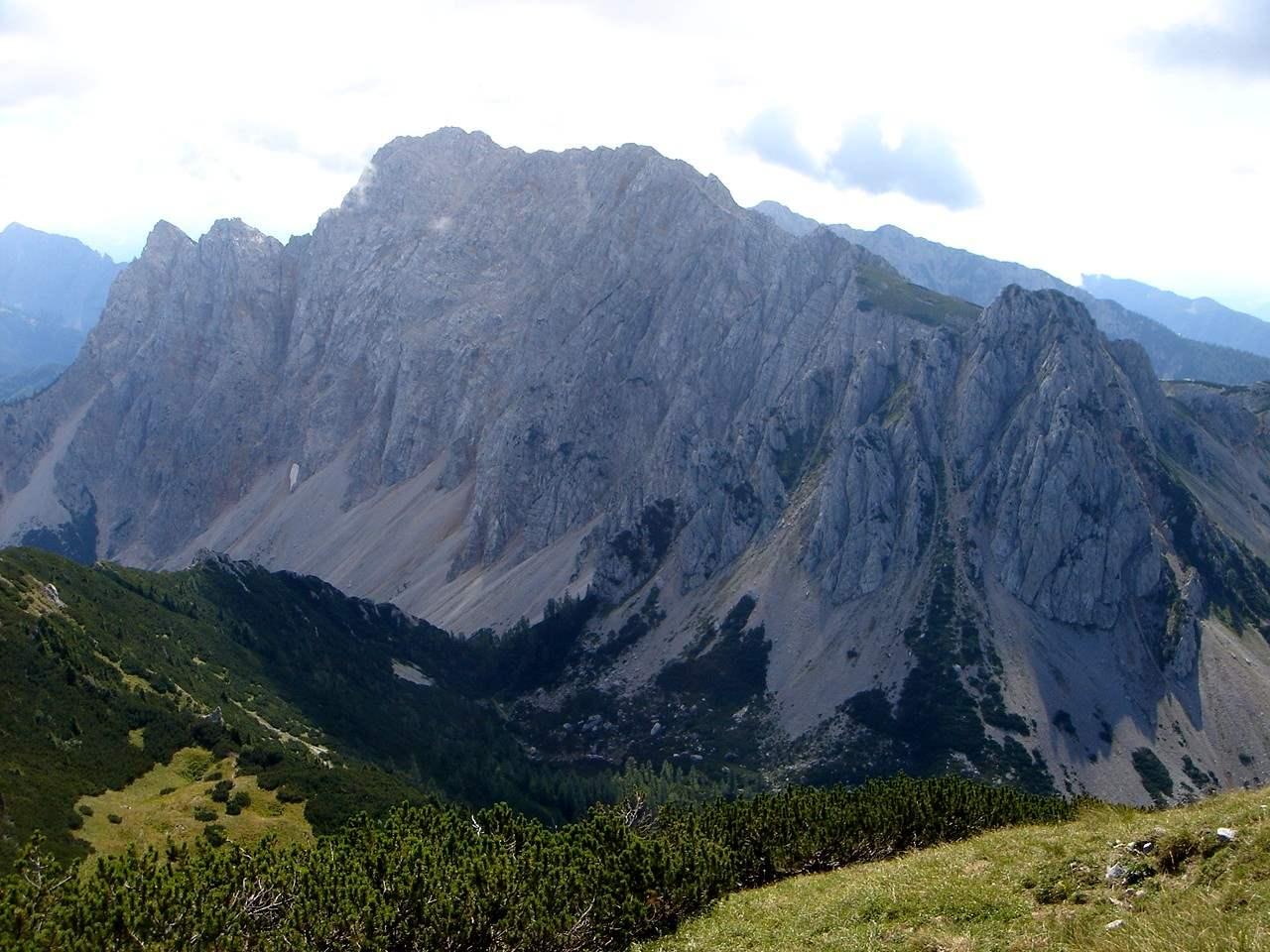 Foto: Manfred Karl / Wandertour / Über die Klagenfurter Hütte auf den Geißberg / Vertatscha / 20.06.2007 18:07:21