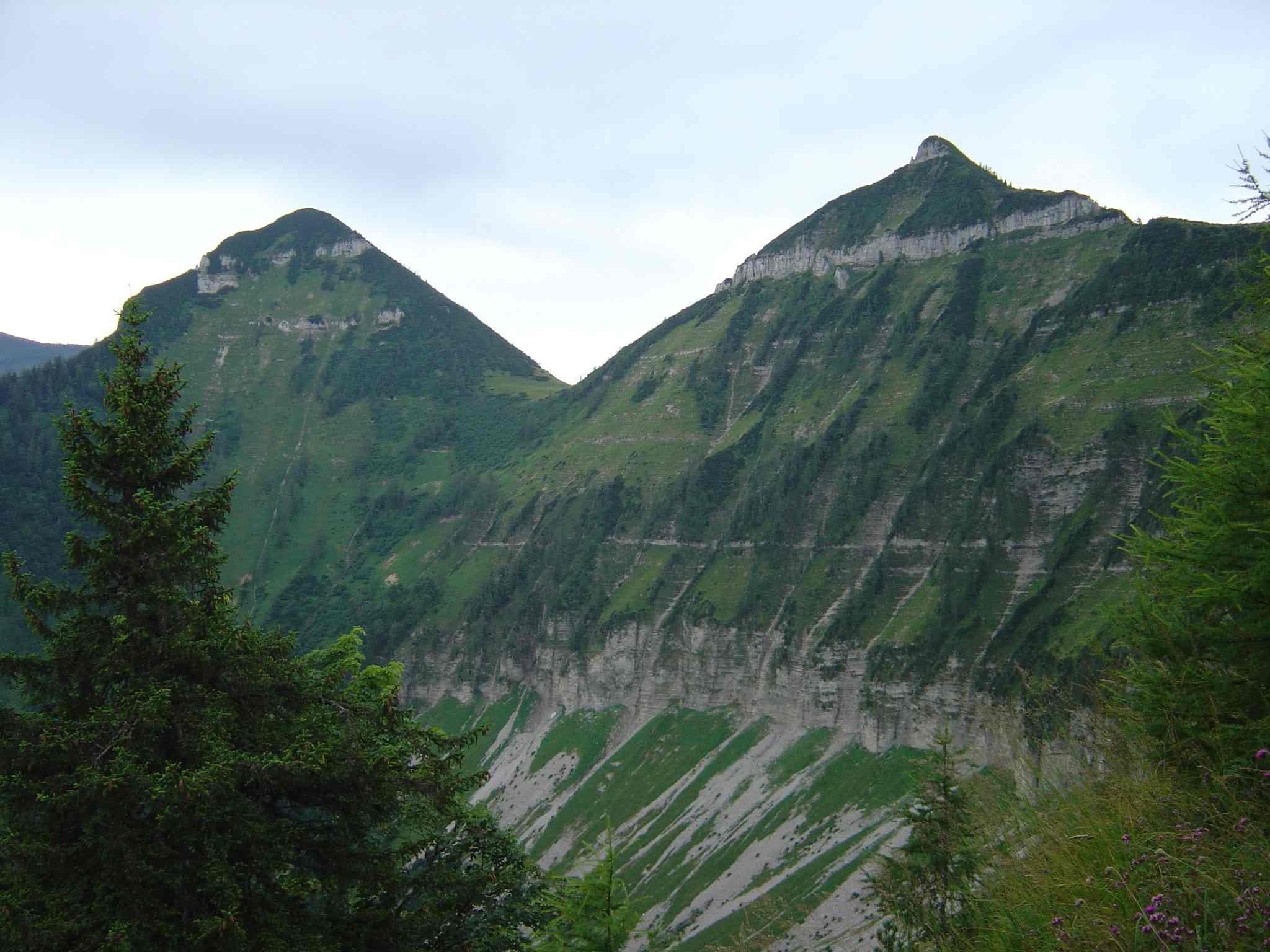Foto: Manfred Karl / Wander Tour / Über den Nordostgrat auf den Regenspitz / Gruberhorn - Gennerhorn / 20.06.2007 18:23:55