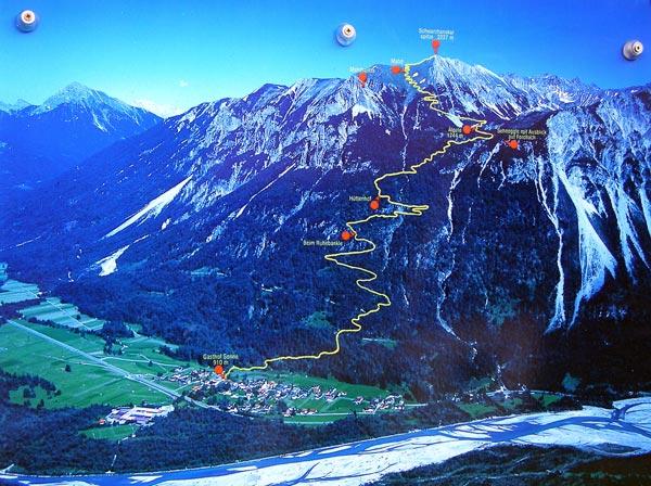 Foto: vince 51 / Wander Tour / Von Forchach auf die Schwarzhanskarspitze / 02.08.2007 22:14:22