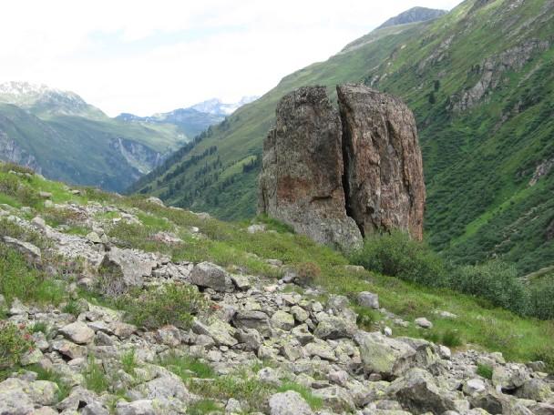 Foto: mucho / Mountainbiketour / Kugleter Stein / Beim Kugelten Stein / 09.07.2007 11:13:11