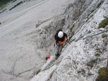 Foto: dobratsch11 / Klettersteig Tour / Lärchenturm - Klettersteig / 21.06.2007 16:58:11