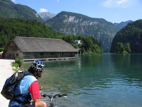 Foto: Lenswork.at / Ch. Streili / Mountainbiketour / Von Markt Schellenberg zur Kührointhütte (1.420 m) und Archenkanzl (1.346m) / Königsee / 25.06.2007 10:30:23