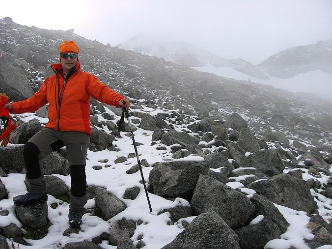 Foto: Andreas Koller / Wander Tour / Von der Osnabrückerhütte auf den Preimlspitz (3133 m) / Im Blockwerk zum Großelendkees / 27.06.2007 15:21:25