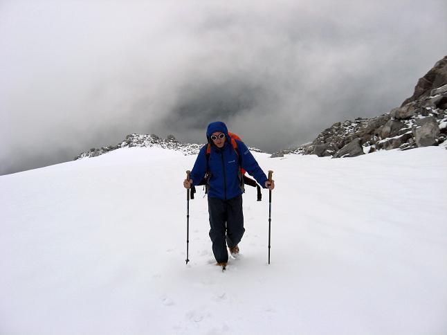 Foto: Andreas Koller / Wander Tour / Von der Osnabrückerhütte auf den Preimlspitz (3133 m) / Am Großelendkees / 27.06.2007 15:22:10
