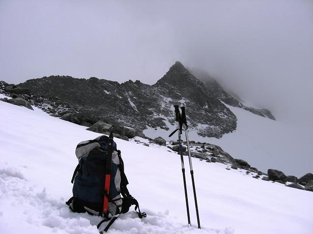 Foto: Andreas Koller / Wandertour / Von der Osnabrückerhütte auf den Preimlspitz (3133 m) / Der Grat zur Hochalmspitze / 27.06.2007 15:26:00