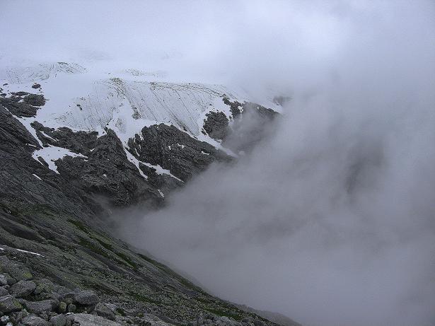 Foto: Andreas Koller / Wander Tour / Von der Osnabrückerhütte auf den Preimlspitz (3133 m) / Großelendkees / 27.06.2007 15:26:13