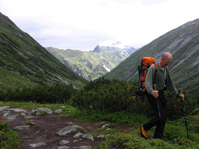Foto: Andreas Koller / Wander Tour / Von der Osnabrückerhütte auf den Preimlspitz (3133 m) / Großelendtal / 27.06.2007 15:19:57