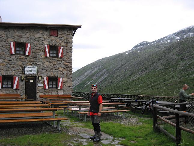 Foto: Andreas Koller / Wandertour / Von der Osnabrückerhütte auf den Preimlspitz (3133 m) / Bei der Osnabrückerhütte / 27.06.2007 15:20:12