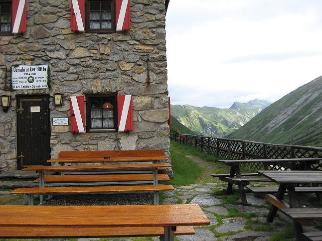 Foto: Andreas Koller / Wander Tour / Von der Osnabrückerhütte auf den Preimlspitz (3133 m) / Osnabrückerhütte / 27.06.2007 15:20:21