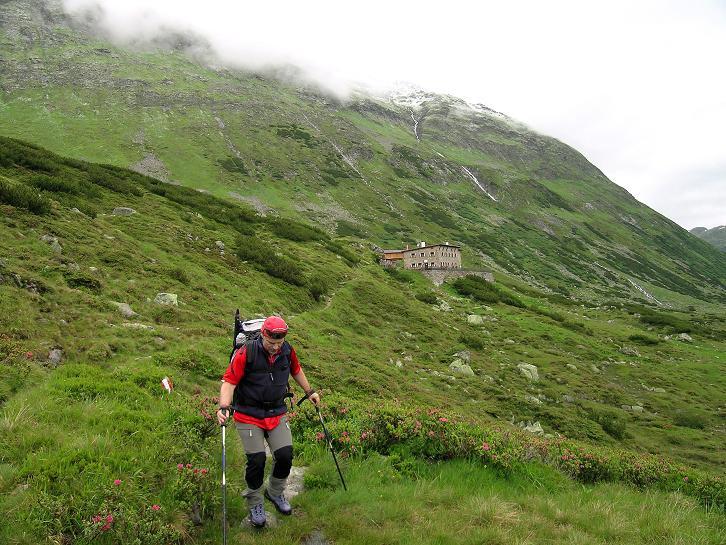 Foto: Andreas Koller / Wander Tour / Von der Osnabrückerhütte auf den Preimlspitz (3133 m) / Weiterweg von der Osnabrückerhütte / 27.06.2007 15:20:38