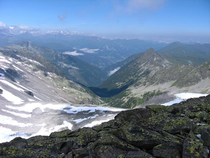 Foto: Andreas Koller / Wander Tour / Vom Maltatal ins Gasteinertal (2886 m) / Das Kötschachtal im Salzburgischen / 27.06.2007 17:14:29