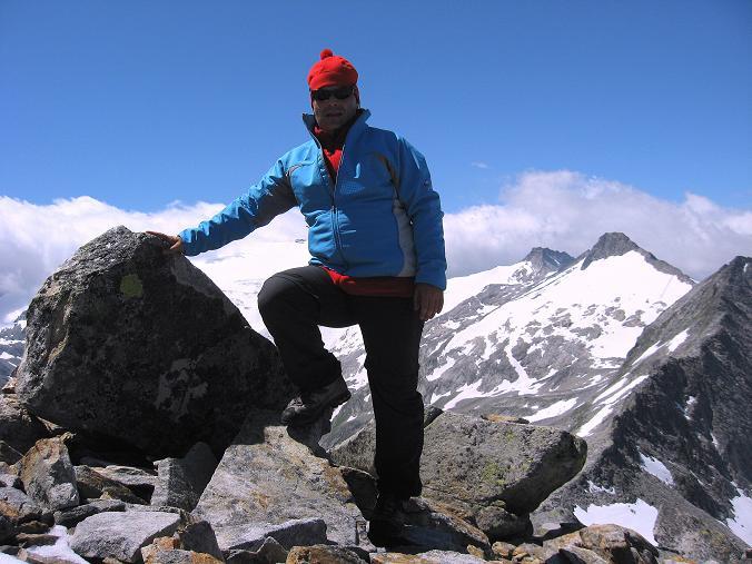 Foto: Andreas Koller / Wander Tour / Vom Maltatal ins Gasteinertal (2886 m) / Am Keeskogel / 27.06.2007 17:16:12