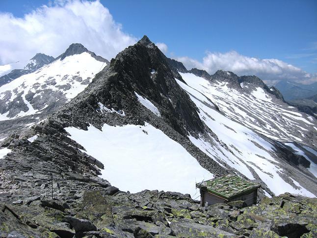 Foto: Andreas Koller / Wander Tour / Vom Maltatal ins Gasteinertal (2886 m) / Kleinelendscharte und Ali-lanti-Biwak / 27.06.2007 17:18:01