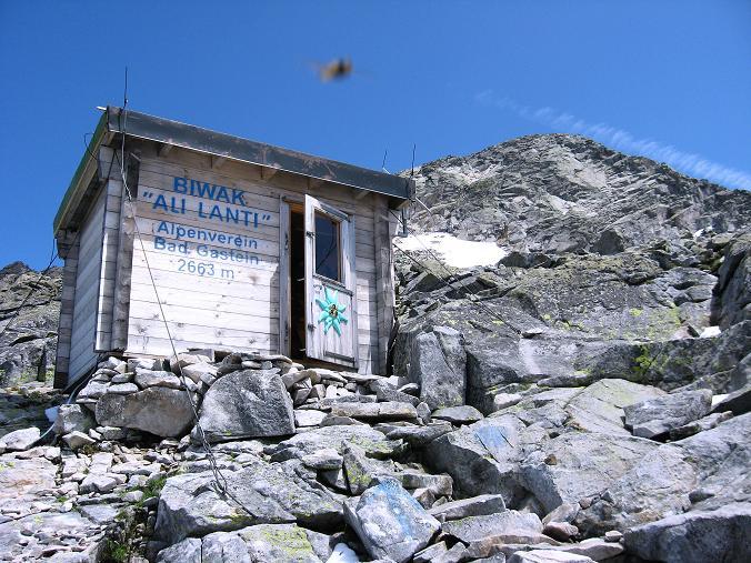 Foto: Andreas Koller / Wander Tour / Vom Maltatal ins Gasteinertal (2886 m) / Ali-lanti-Biwak und Keeskogel / 27.06.2007 17:18:18