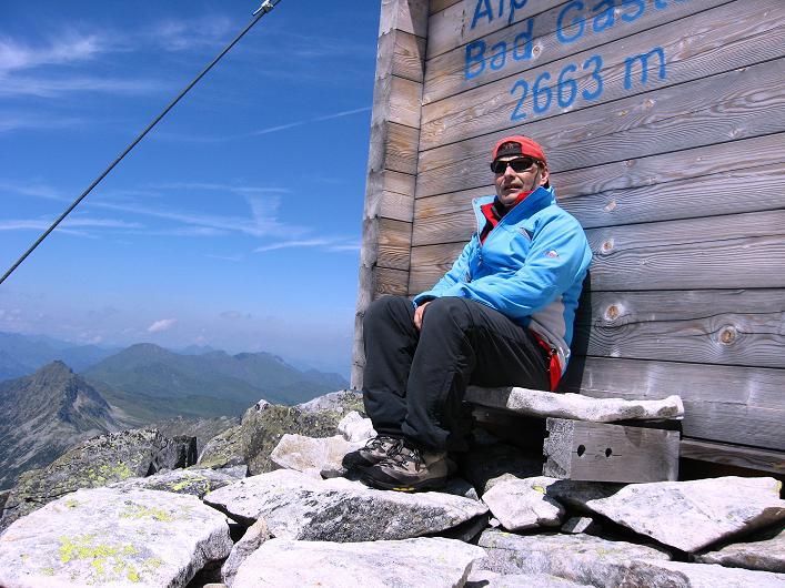Foto: Andreas Koller / Wander Tour / Vom Maltatal ins Gasteinertal (2886 m) / Rast beim Ali-lanti-Biwak / 27.06.2007 17:18:42