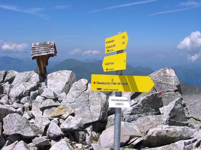 Foto: Andreas Koller / Wander Tour / Vom Maltatal ins Gasteinertal (2886 m) / Kleinelendscharte / 27.06.2007 17:18:58