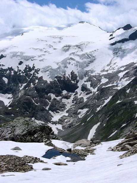 Foto: Andreas Koller / Wander Tour / Vom Maltatal ins Gasteinertal (2886 m) / Seenauge und Kleinelendkees / 27.06.2007 17:19:14