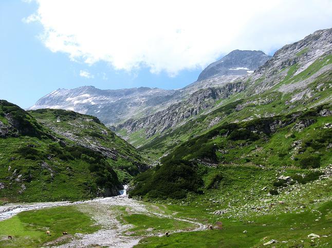 Foto: Andreas Koller / Wander Tour / Vom Maltatal ins Gasteinertal (2886 m) / Kleinelendtal und Keeskogel / 27.06.2007 17:20:41
