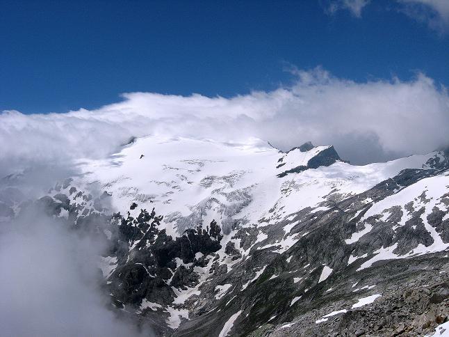 Foto: Andreas Koller / Wander Tour / Vom Maltatal ins Gasteinertal (2886 m) / Das Kleinelendkees / 27.06.2007 17:14:09
