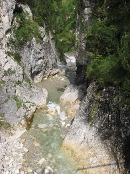 Foto: mucho / Mountainbiketour / Rofanspitze Angernalm / Schluchtstrecke / 02.07.2007 09:24:14