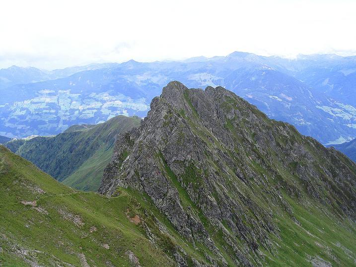 Foto: Andreas Koller / Wander Tour / Vom Loassattel über das Kellerjoch zum Spieljoch (2344 m) / der Blick zum Spilejoch / 03.07.2007 12:43:23