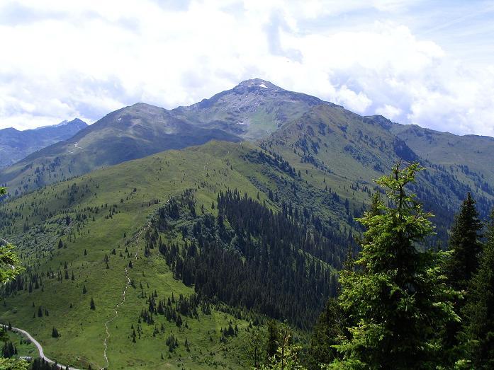 Foto: Andreas Koller / Wander Tour / Vom Loassattel über das Kellerjoch zum Spieljoch (2344 m) / Loassattel und Gilfert (2508 m) / 03.07.2007 12:47:53