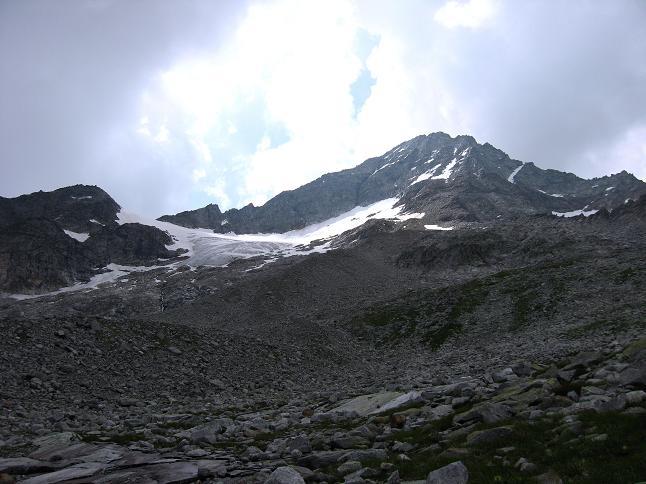 Foto: Andreas Koller / Wandertour / Schrammacher (3411 m) / Das Oberschrammach Kar und der Schrammacher / 03.07.2007 13:33:03