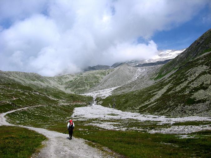 Foto: Andreas Koller / Wandertour / Schrammacher (3411 m) / Unterhalb des Pfitscherjochs / 03.07.2007 13:41:34