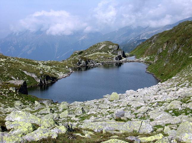 Foto: Andreas Koller / Wandertour / Schrammacher (3411 m) / Langsee am Pfitscherjoch / 03.07.2007 13:41:20