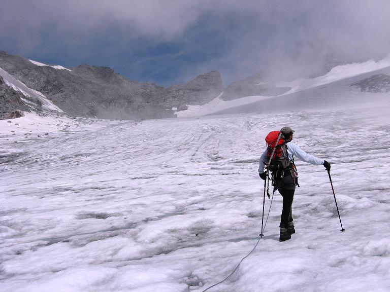 Foto: Andreas Koller / Wandertour / Schrammacher (3411 m) / Am Stampflkees / 03.07.2007 13:40:08