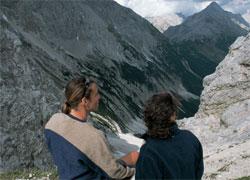 Foto: Tirol Werbung / Wander Tour / Adlerweg Etappe U11 - Umgehung 9, 10, 11 + 12 / 3. Teilstück / 26.07.2007 10:20:46