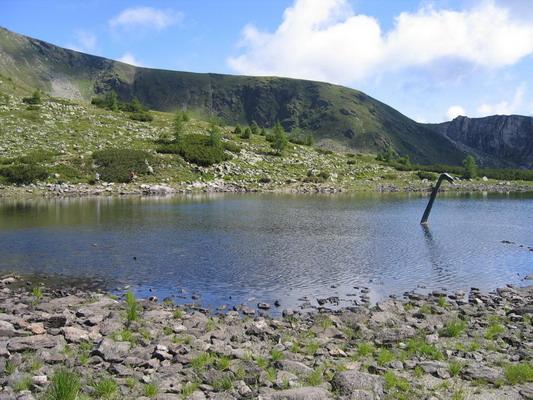 Foto: Tomii / Wander Tour / Von Sankt Oswald durch die Nockberge / Naßbodensee / 04.07.2007 17:58:12