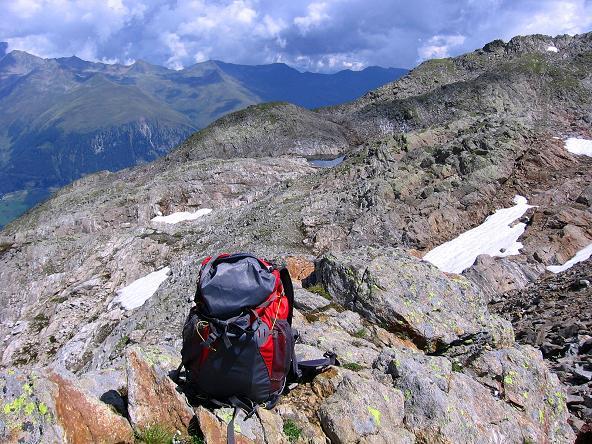 Foto: Andreas Koller / Wander Tour / Durch das Arntal auf die Weiße Spitze (2963 m) / In der Schötter Lenke / 10.07.2007 17:51:51